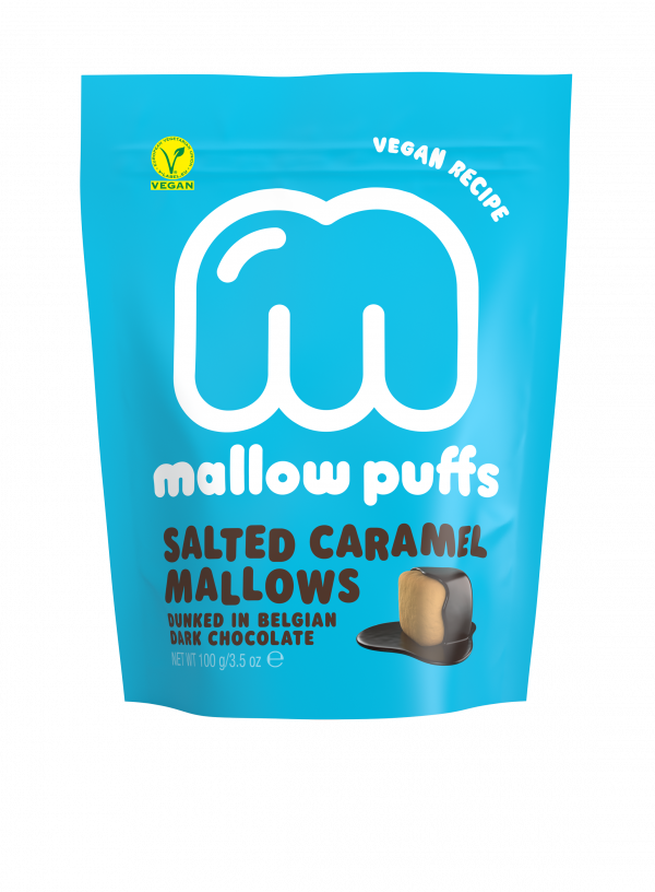 SALTED CARAMEL MALLOWS DUNKED IN BELGIAN DARK CHOCOLATE